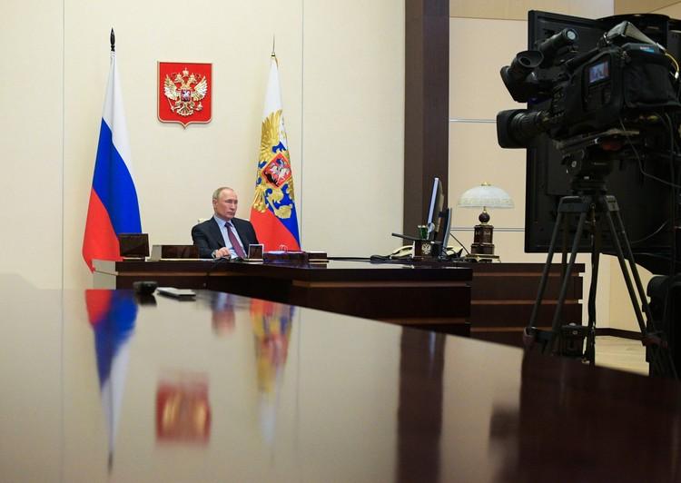 Президент Владимир Путин. Фото: Алексей Дружинин/пресс-служба президента РФ/ТАСС