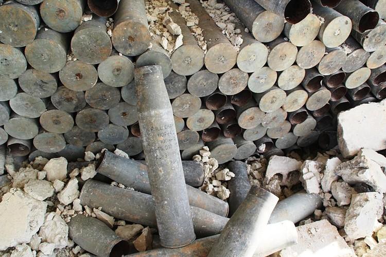 Боевики обустроили cвой тренировочный лагерь на раскопках древнего города Эбла
