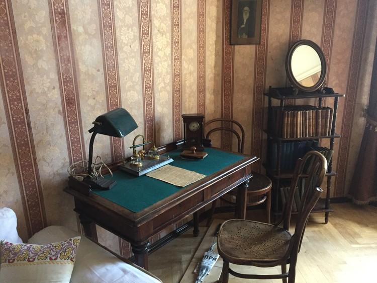 Здесь Владимира Ильича приютил Сталин (Музей-квартира Аллилуевых).