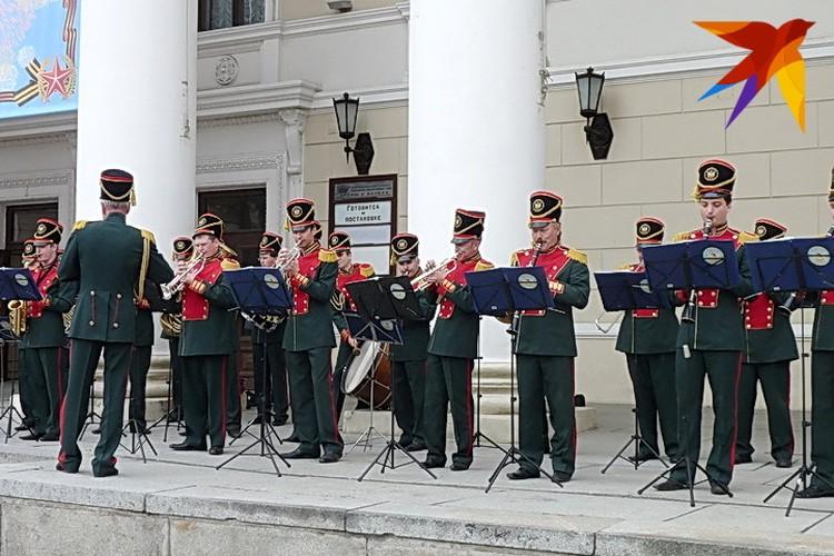 Губернаторский оркестр.
