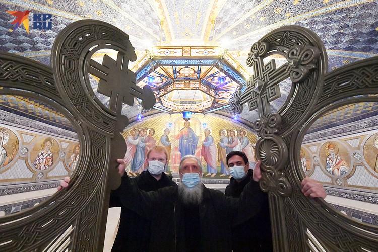 Главный храм Вооруженных сил России откроют уже на днях