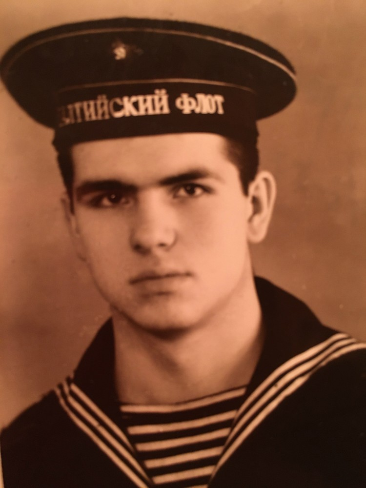 Окутин отслужил на Балтийском, Северном и Тихоокеанском флотах. Фото: Из семейного архива
