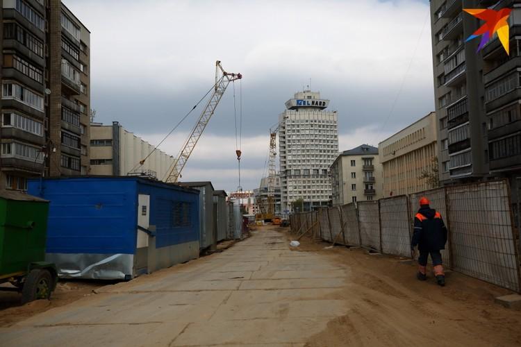 Вид с улицы Сухой.