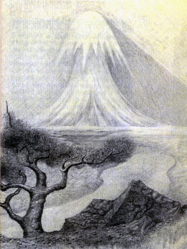 Загадочные явления в Долине смерти в разные годы были отображены в рисунках