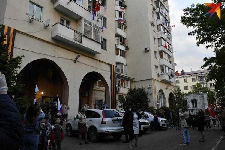 Многоэтажка на улице Головатого
