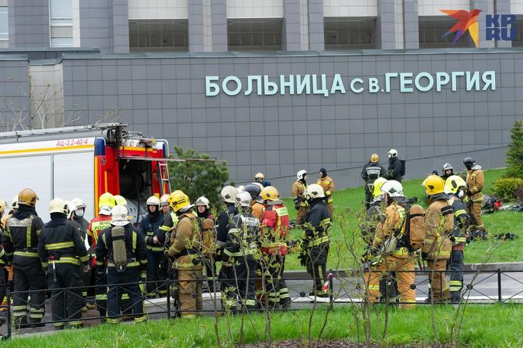 Спасатели прибыли за 10 минут к больнице