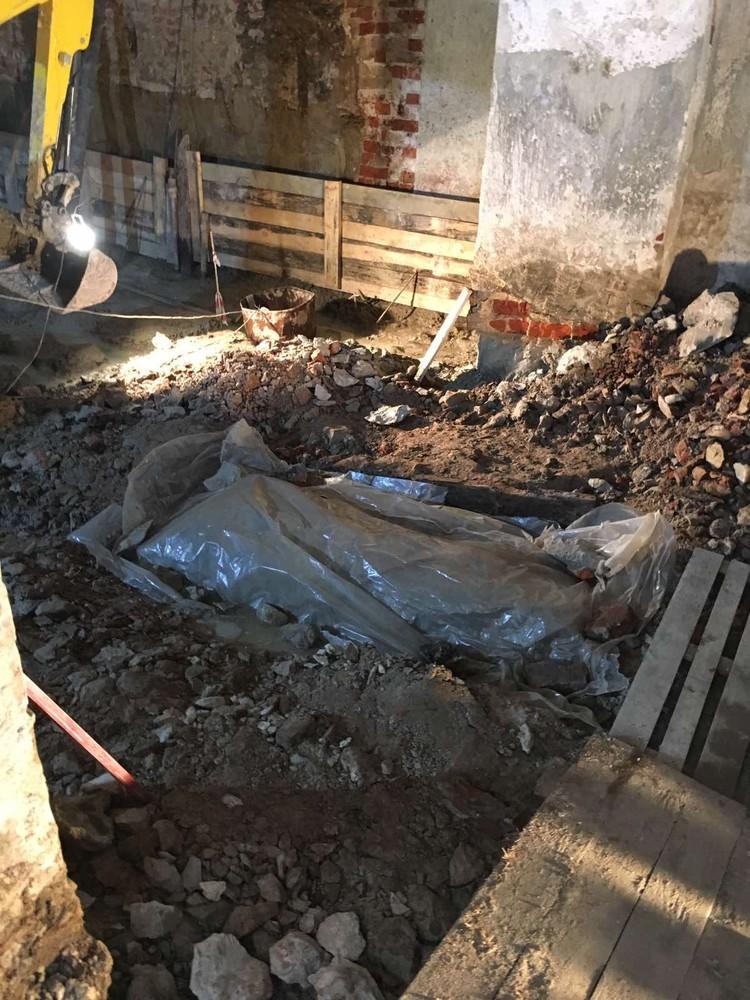 По факту обнаружения останков проводится доследственная проверка. Фото - Следственный комитет по Тюменской области.