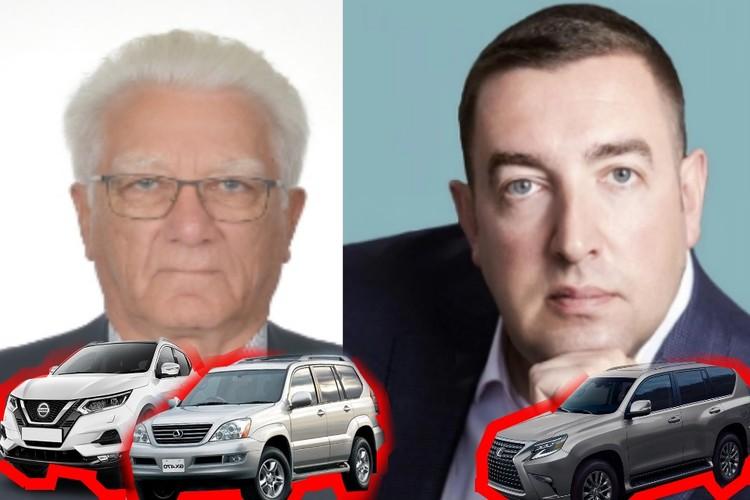 Машины Далхата Байдаева и самый бедный депутат Илья Дроздов с авто жены.