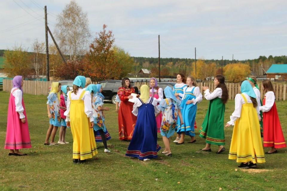 Народные развлечения в Хор-Тагне. Фото: сайт администрации Хор-Тагнинского муниципалитета.