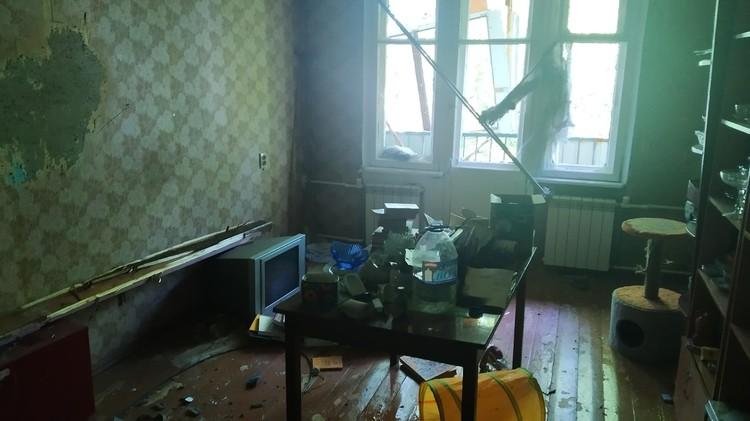 Квартира получила повреждения
