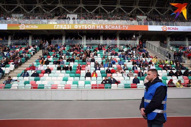 На матче присутствовало более пяти тысяч зрителей.