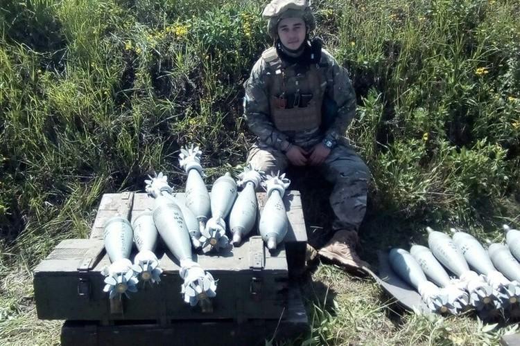 Еще минута, и эти 120-миллиметровые мины полетят в сторону мирных жителей Донбасса. Фото: vk.com/club129358450