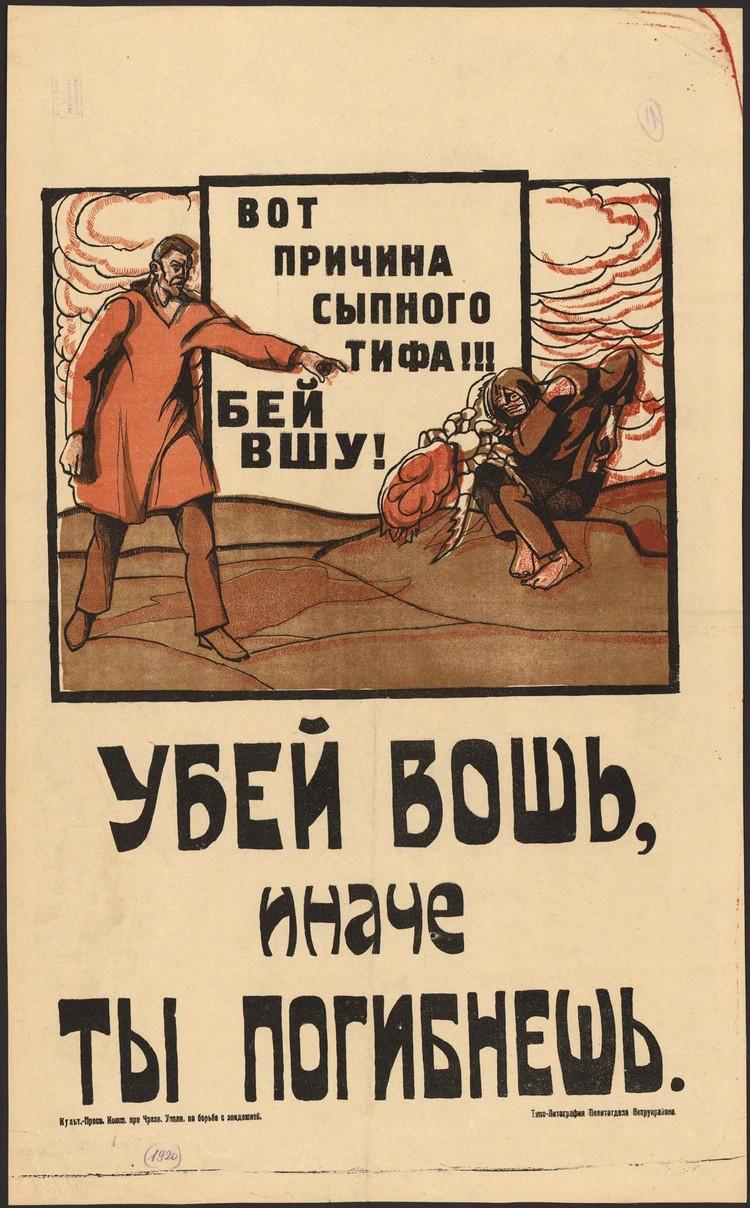 Карантин и общегородской субботник помогли победить эпидемию тифа. Фото: предоставлено Музеем города Новосибирска.