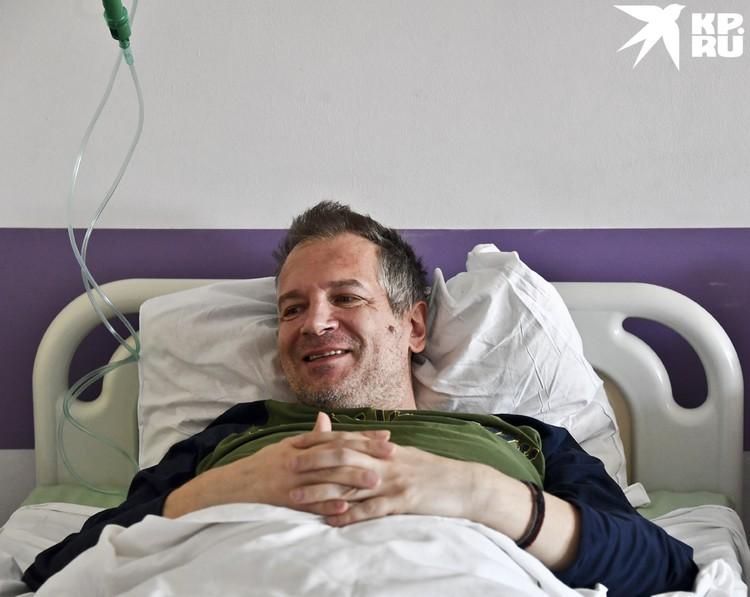 Андрею скоро на выписку и он благодарен своим спасителям.