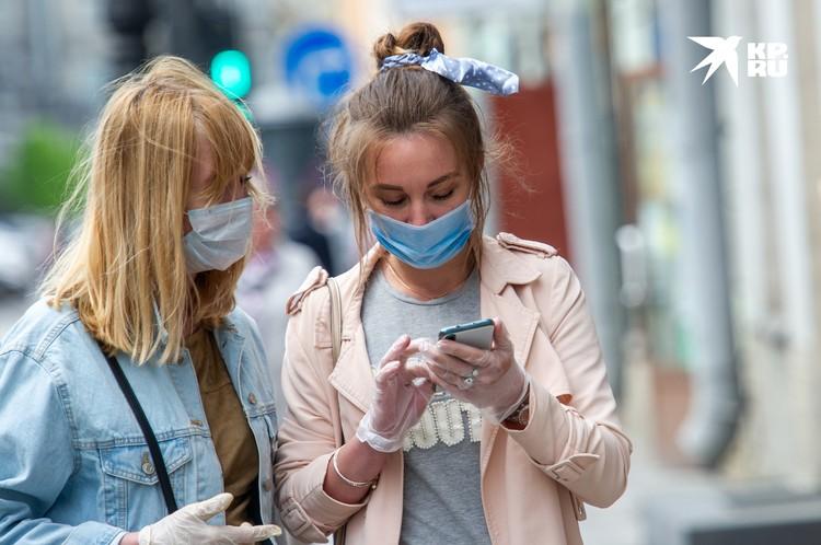 Петербуржцы смогут ходить по улицам без масок