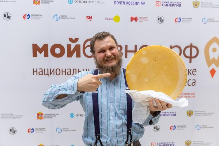 Подмосковный сыровар, член Общественной палаты РФ Олег Сирота.