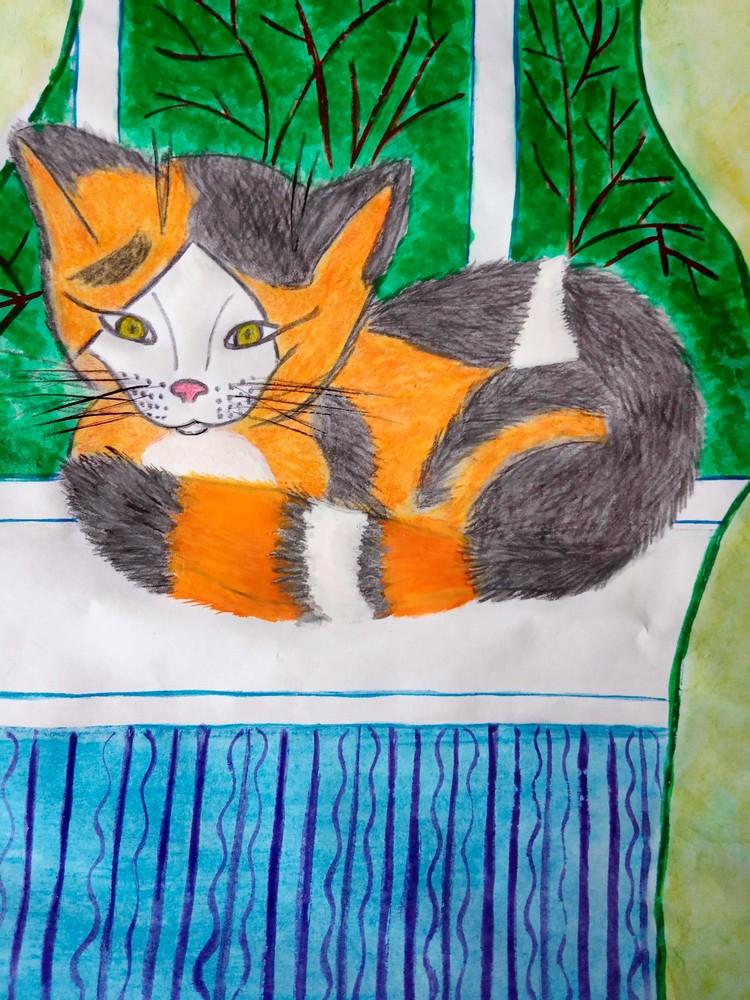 Кошка Пульхерия Барсиковна Марии Сериковой.