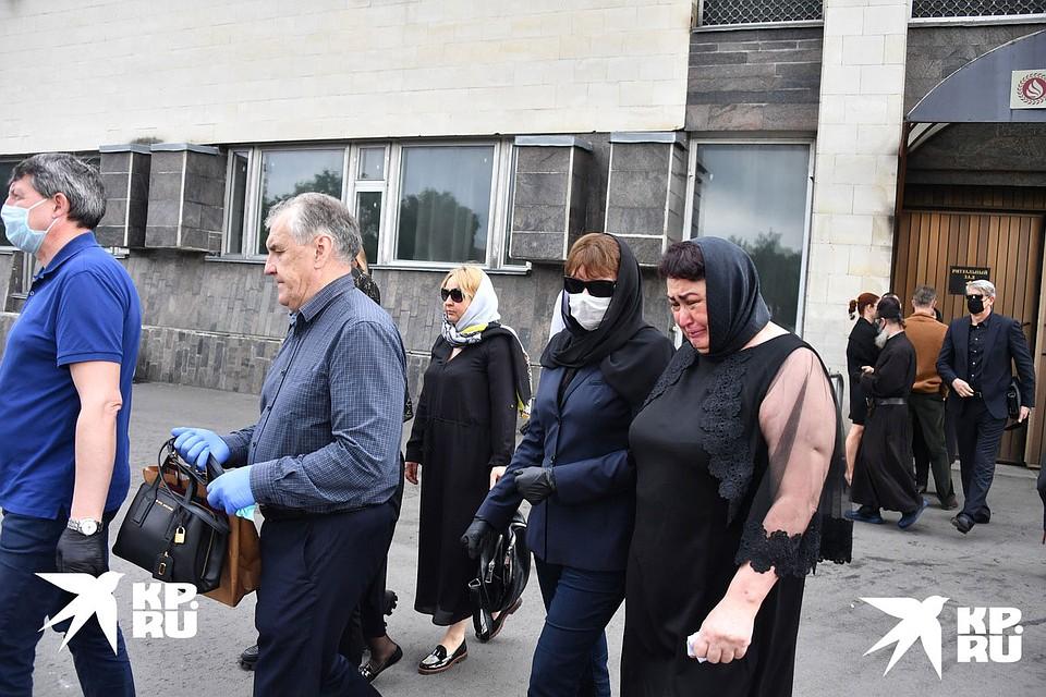 Церемония прощания завершилась в ритуальном зале Митинского крематория. Фото: Иван МАКЕЕВ