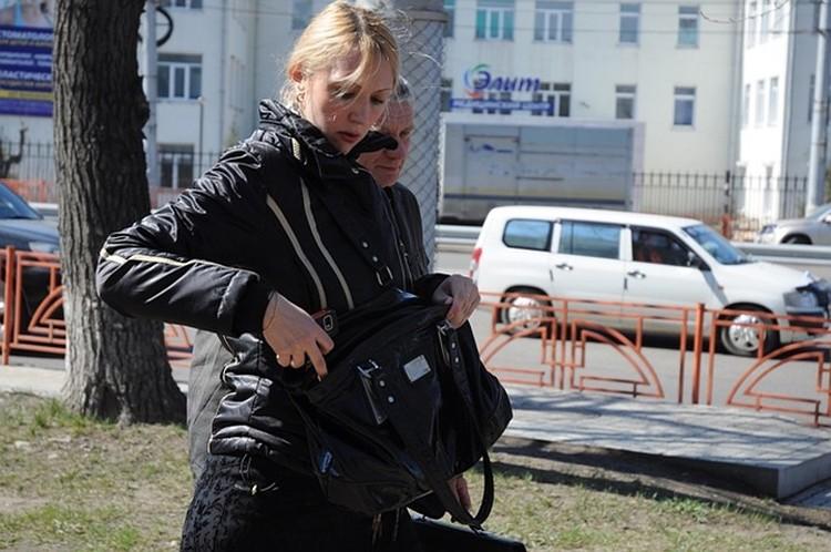 Анна Шавенкова после одного из судов