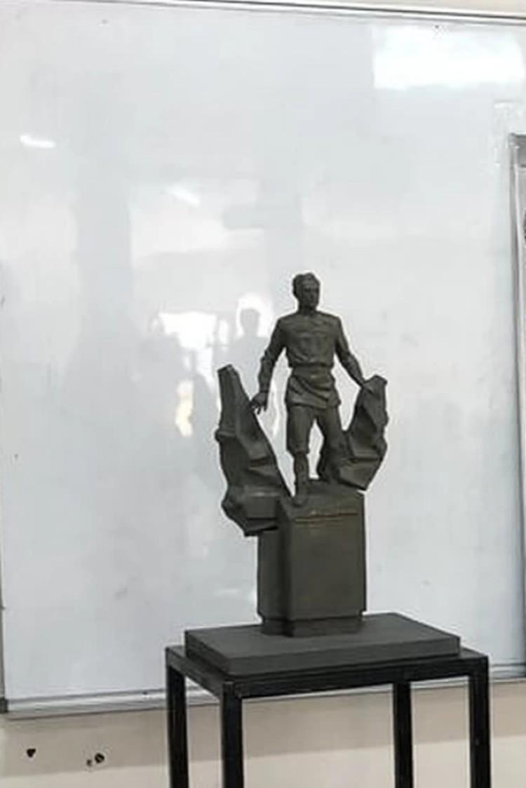 Памятник по проекту Айдера Алиева планируют открыть 25 октября. Фото: пресс-служба депутата Госдумы РФ Руслана Бальбека