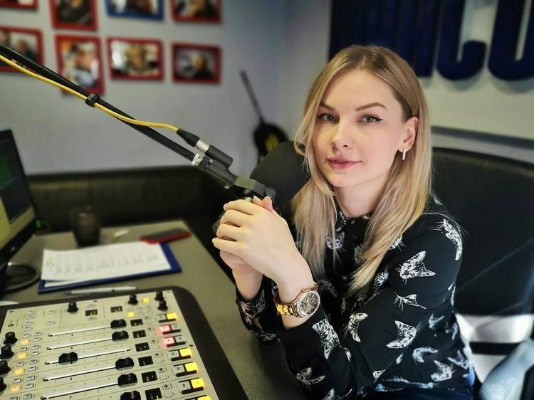 Ведущая радиостанции Елена Лефирова. Фото: «Радио Шансон».