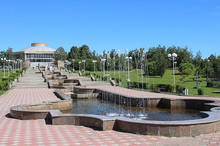 Каскадный фонтан в парке культуры и отдыха имени А.П.Бондина. Фото park-bondina.ru