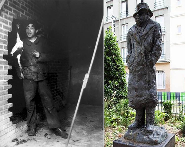 Хаим Сутин из Смиловичей первые 10 лет в Париже прозябал в бедности, а теперь там стоит памятник художнику. Фото: Laruche-artistes.fr, Wikipedia.org