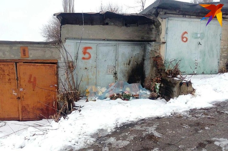 Гаражи, где было найдено тело девочки