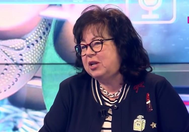 Генеральный директор Национального обувного союза Наталья Демидова.