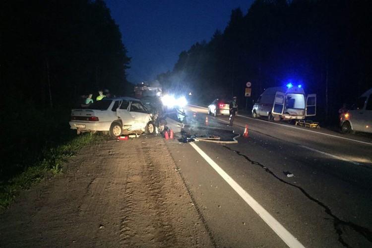 Трое взрослых и двухмесячный малыш погибли в жутком ДТП под Нижним Новгородом