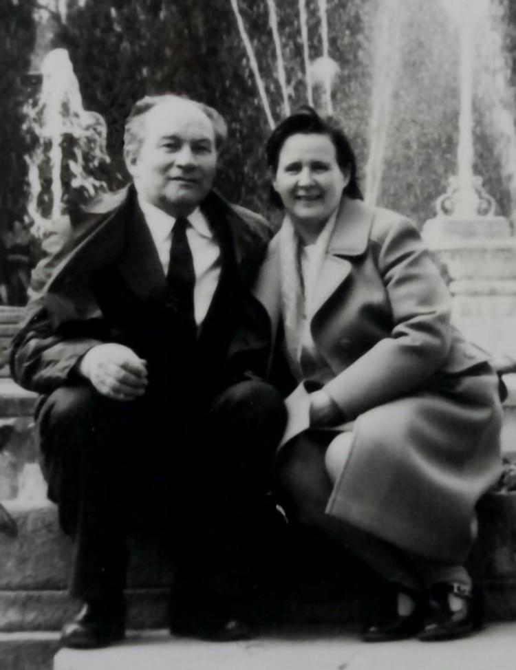 Владимир и Галина Тихоновские. Фото из семейного архива
