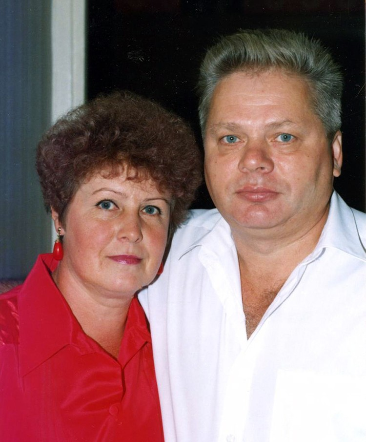 Родители Натали: Анатолий Николаевич и Людмила Павловна