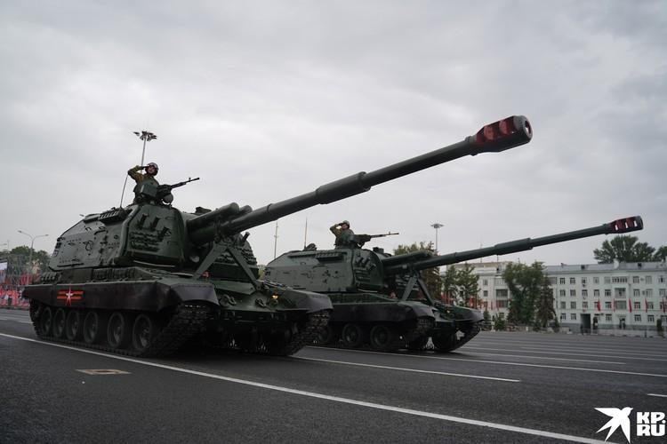 Мста-С - российская 152-мм дивизионная самоходная гаубица, разработка Уральского завода транспортного машиностроения