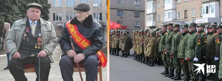 В мае в Ясиноватой для ветерана провели торжественное шествие в рамках акции «Парад для одного ветерана».