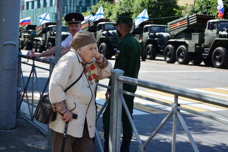 Парад Победы 2020 в Калининграде.