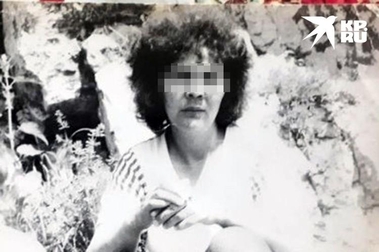Такой была Анна 30 лет назад. Фото: архив семьи.