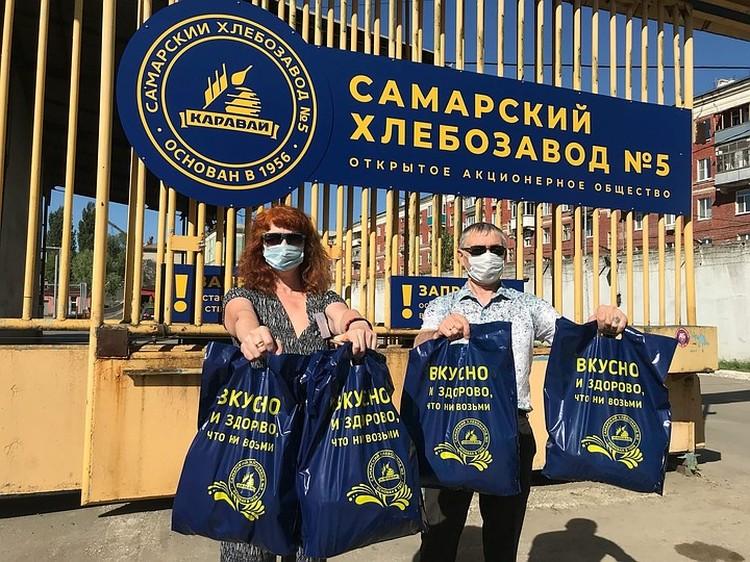Угощения Самарского хлебозавода №5 разлетелись на ура!