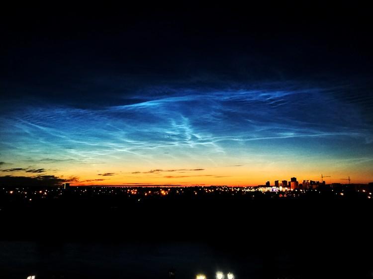 Снимок сделан на набережной Туры. Фото из группы «Старая башня» «ВКонтакте»