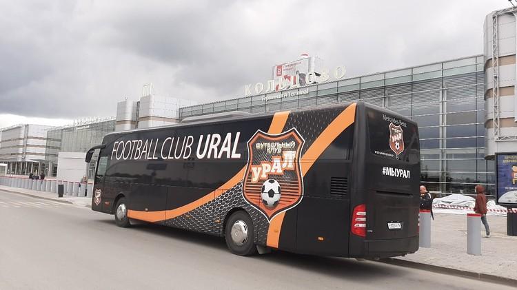 Еще бы немного и «Урал» бы улетел на матч, который отменили из-за коронавируса. Фото: пресс-служба ФК «Урал»