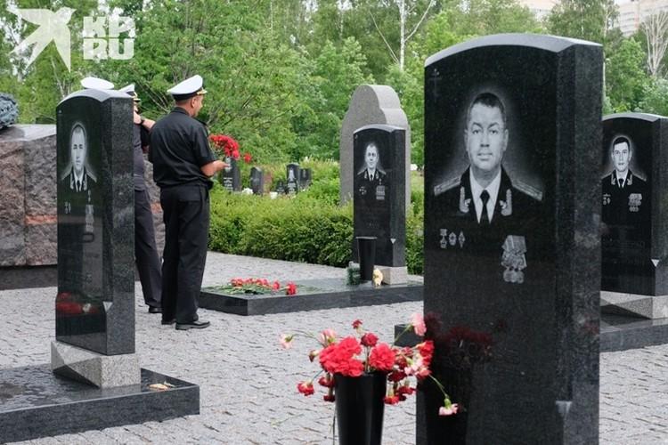Почтить память погибших моряков пришли их коллеги