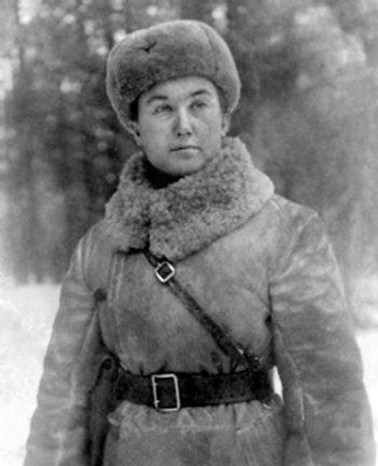 Зоя Кузьминична Кетько на фронте