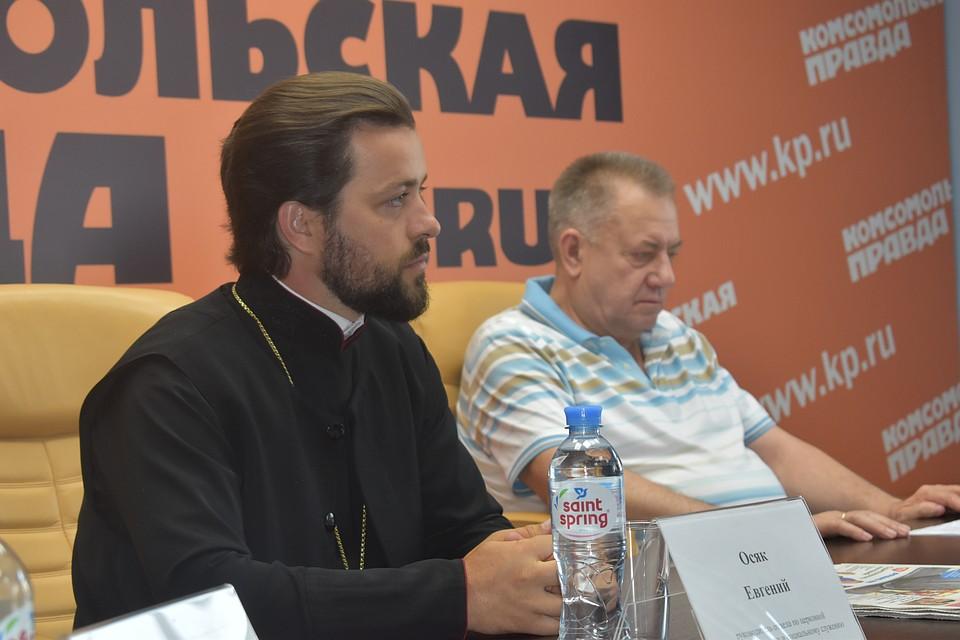 Руководитель отдела по церковной благотворительности и социальному служению Ростовской епархии иерей Евгений Осяк. Фото: Дадаян Давид
