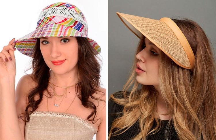 Слева - не модная шляпка, справа - модная