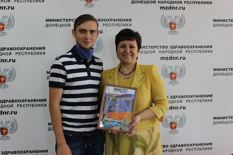 Министру от всех жителей Республики вручили Комсомольскую благодарность