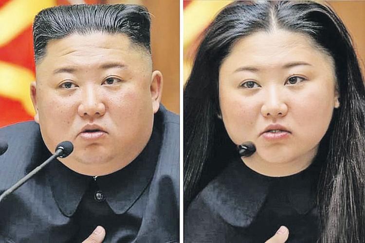 Шутники не пожалели главу Северной Кореи Ким Чен Ына - прогнали и его фото через программу по «смене пола». Фото: FaceApp