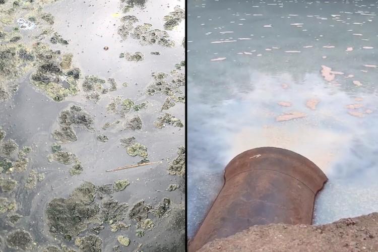 Последствия очередного сливы ужасны. Фото: vk.com/spb_today