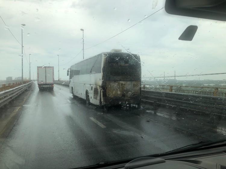 К счастью, в момент происшествия в салоне автобуса не было пассажиров