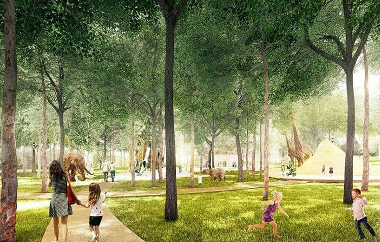 В планах - деревянные павильоны, парковые дорожки и фонтаны. Фото: Пресс-служба правительства Нижегородской области