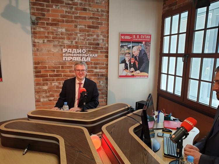 Владимир Солодов, глава Камчатки. Автор фото: Татьяна СИНИЦЫНА