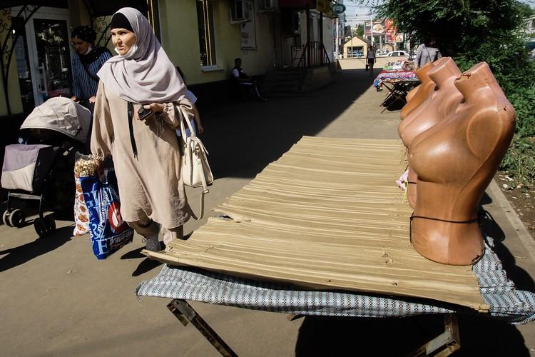 Торговая зона на улице Победы